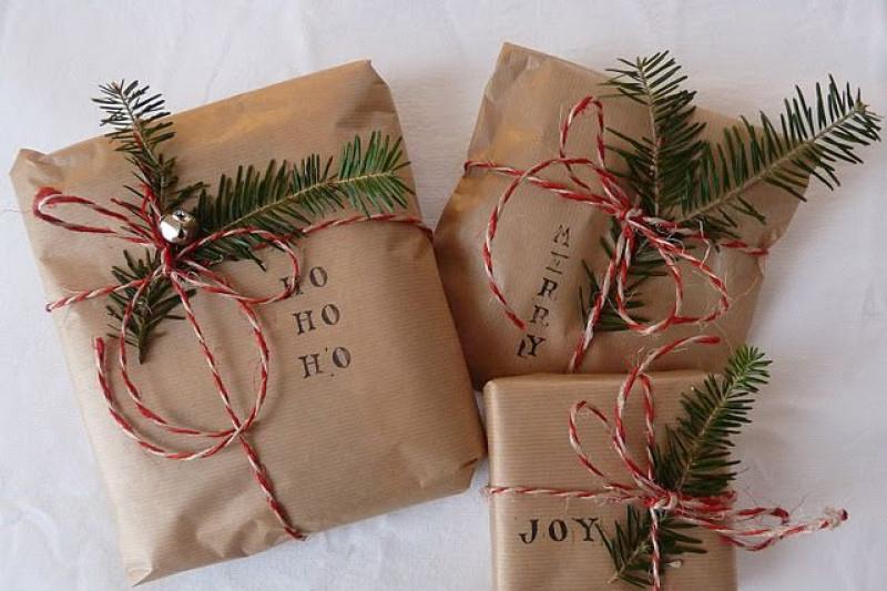 Как  упаковать подарок к новому году