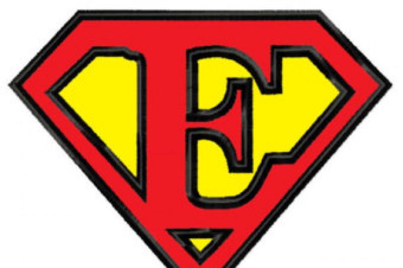 CampD Visionary DC Comics Patch Superman Insignia 75X10