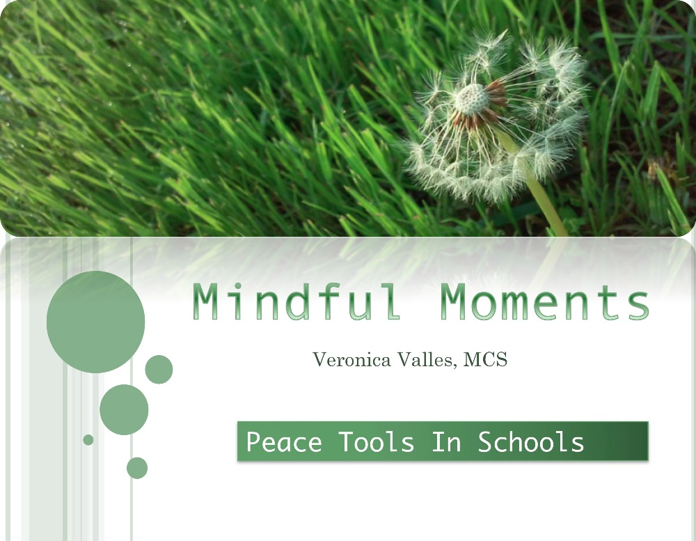 Fundraiser by Veronica Valles : Mindful Moments: Peace Tools