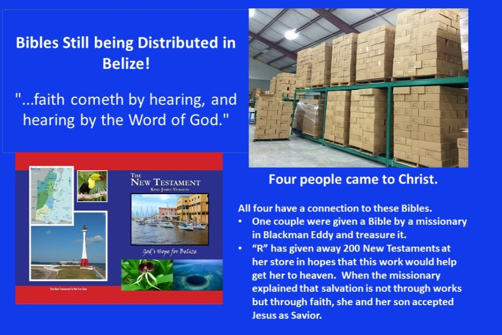Fundraiser by Selmer Peterson : Belize Bibles - All Funds