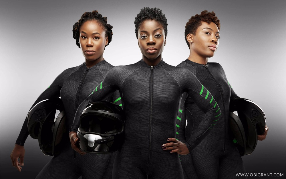 Image result for Nigerian women's bobsled team