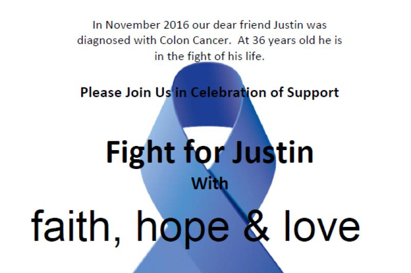 Fundraiser For Justin Vossen By Tim Miller Vossen Family