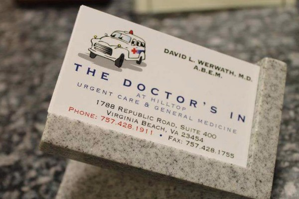 Fundraiser by david werwath the doctors in donate now not now reheart Choice Image