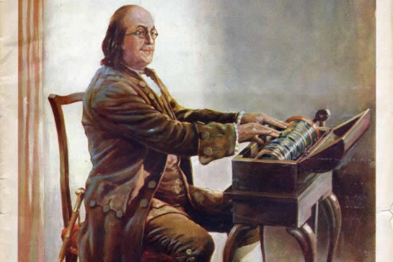 Fundraiser by Lotus Drum : Benjamin Franklin's Glass Armonica