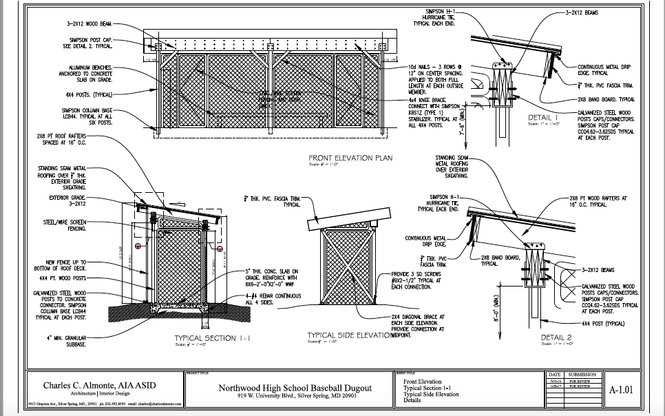 Baseball Dugout Bedroom Designs: Fundraiser By Ian Winick : Dugouts For Northwood High School