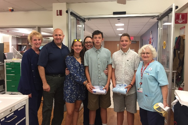 Bnai Mitzvah Project to Donate The Zakys to Jersey Shore