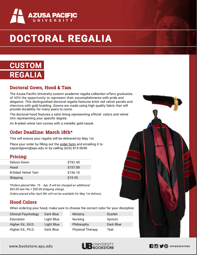 Fundraiser by John Wick : Doctoral Regalia for Dr. Wick Ed.D.