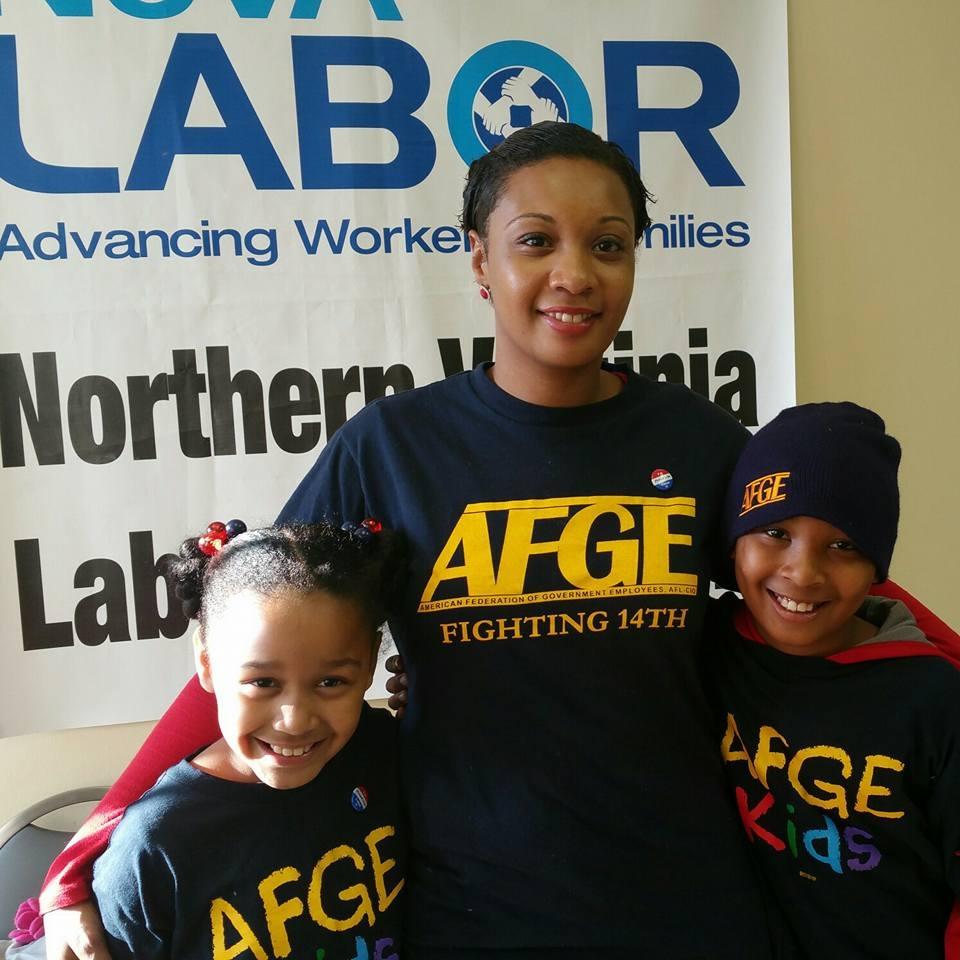 Fundraiser by Felicia Sharp : Felicia Sharp for AFGE 14 NVP