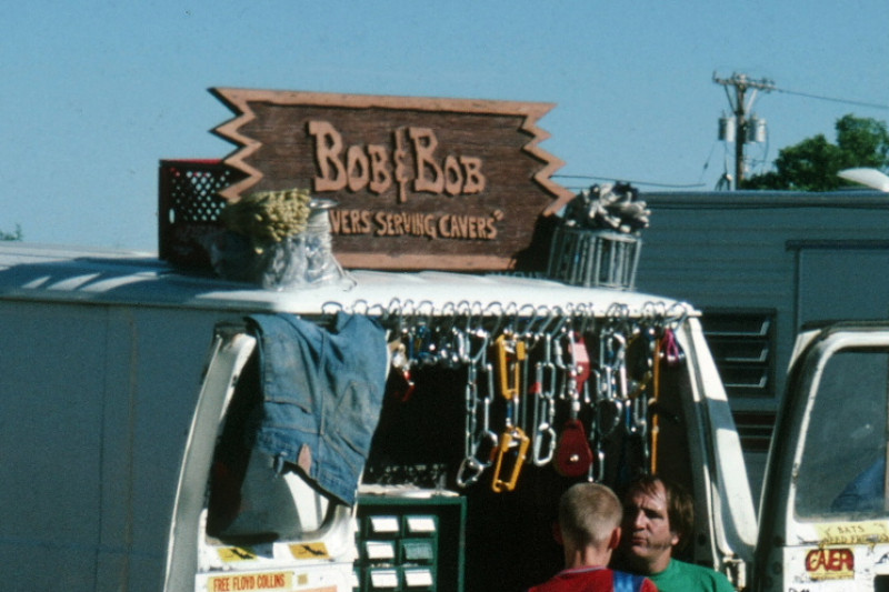 Bob and bob caving