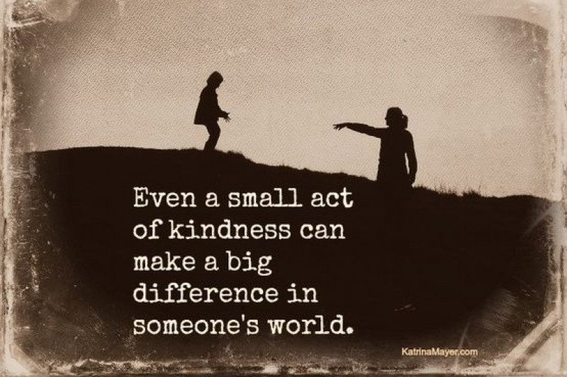 little acts of kindness big