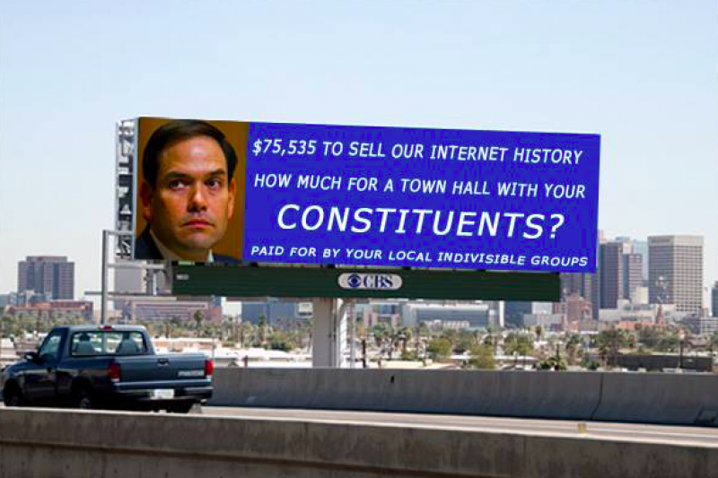Where is Marco Rubio Billboard