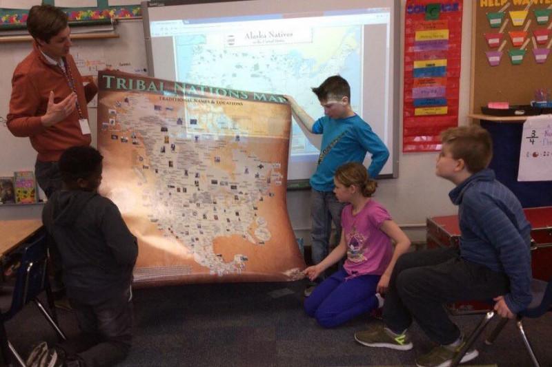 Aaron Carapella Tribal Nations Maps - Aarons store map us