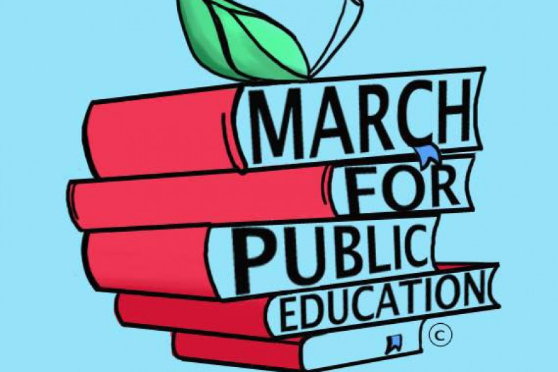 Image result for March for Public Education