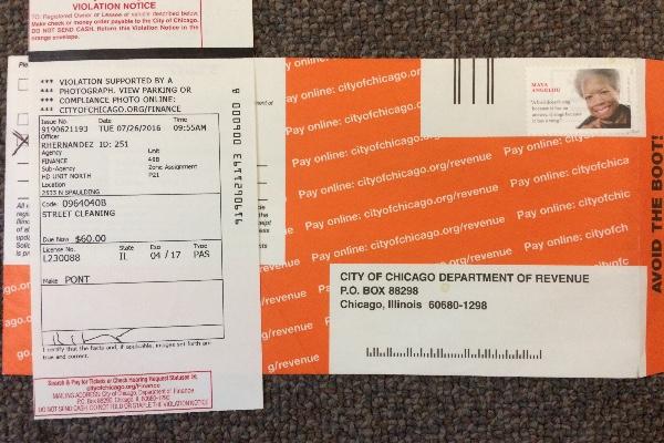 Fundraiser By Todd Kooperman : Chicago Parking Ticket
