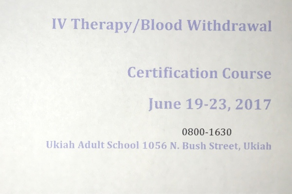 Fundraiser by Jesse Tommy Addington : IV therapy / blood withdrawal