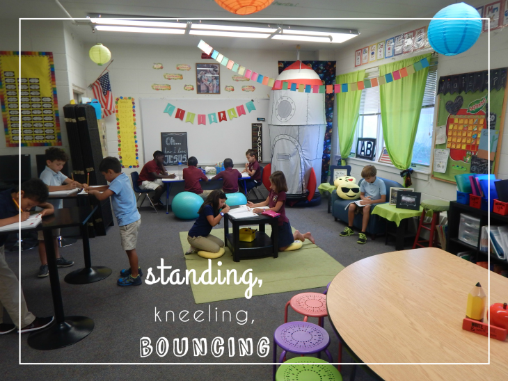 Research Based Classroom Design : Fundraiser by danielle knotts flexible classroom seating