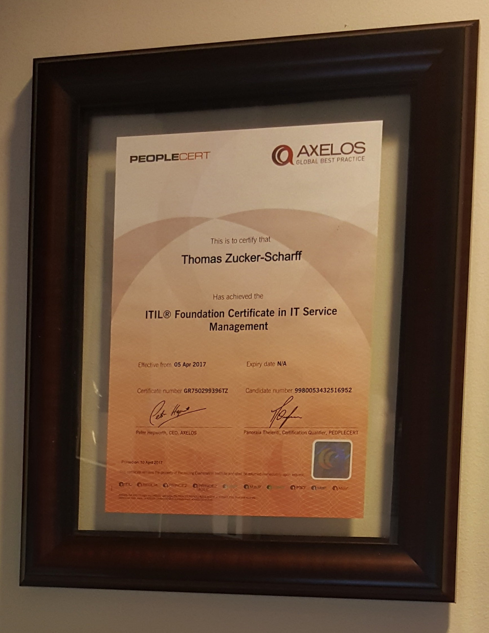 Fundraiser by thomas zucker scharff certification fund now i want to continue my certificationlearning journey with a security related certification from sans called gsec this is unfortuneately expensive xflitez Images