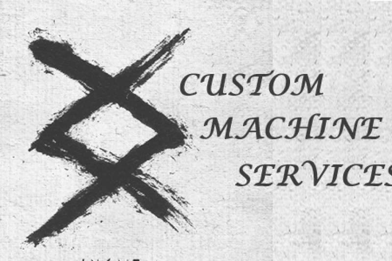 custom machine services