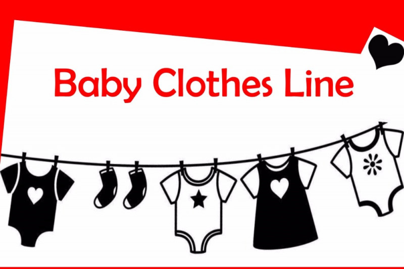 Fundraiser By Karina Wright Baby Clothes Line Red Donation Bins