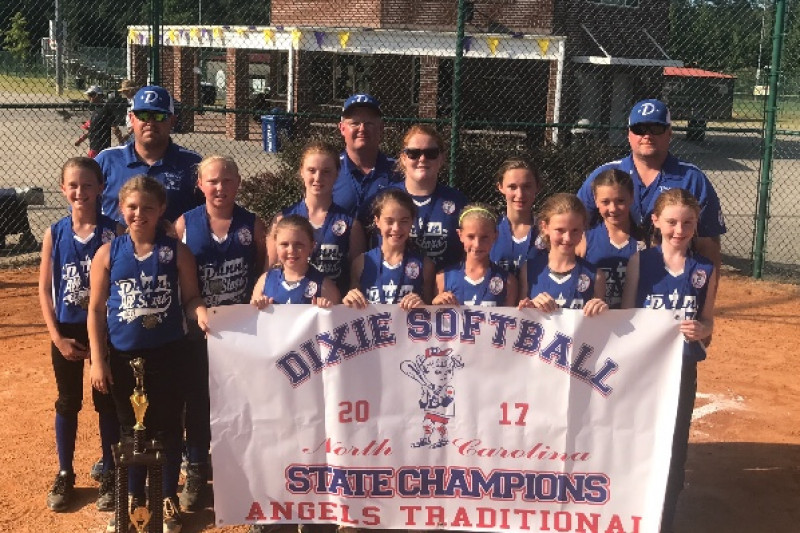 Fundraiser by Derek N Dru Campbell : Dixie Softball NC 2017 State Champs