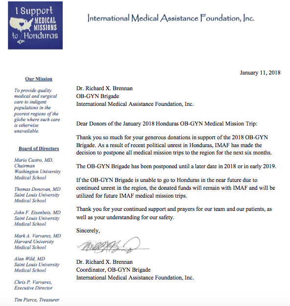 Fundraiser by amanda dailey honduras gyn medical mission trip please see the letter below the trip has been postponed due to recent political unrest but the team is working to reschedule altavistaventures Image collections