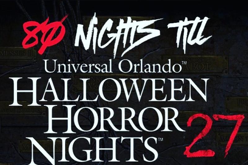 Fundraiser by Tyler Sanders : Halloween horror nights tickets