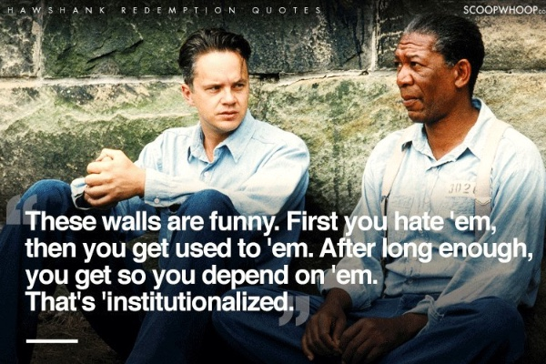 power quotes shawshank redemption 32 quotes from rita hayworth and shawshank redemption: a story from different seasons: 'some birds are not meant to be caged, that's all their feathers.