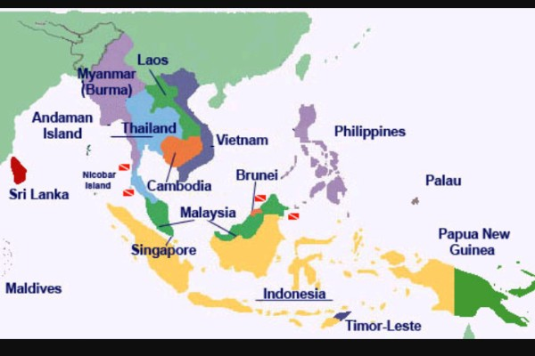 comparison of southern thailand and indonesia's Similarities and differences between the cultures of thailand and neighboring countries thailand and neighboring countries in southeast asia there are different.