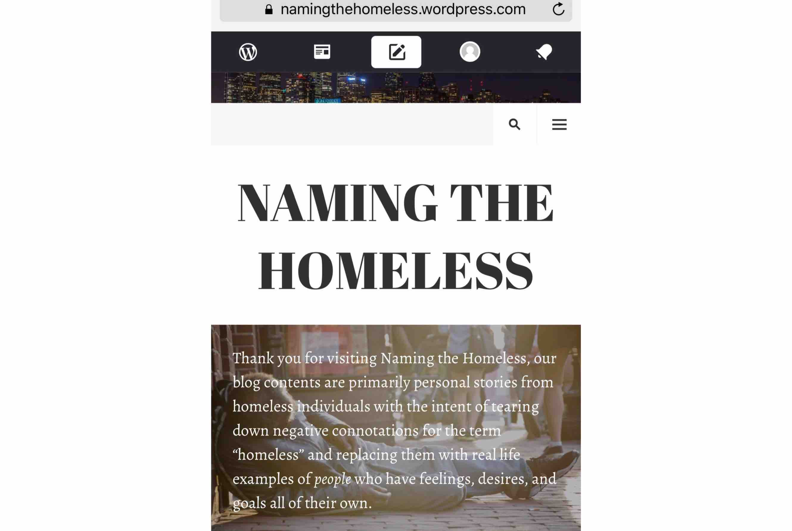 fundraiser by lauren purnell naming the homeless care packages