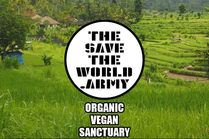 Click here to support THESAVETHEWORLD ARMY - VEGAN FARM! organized by Joseph Mekhael