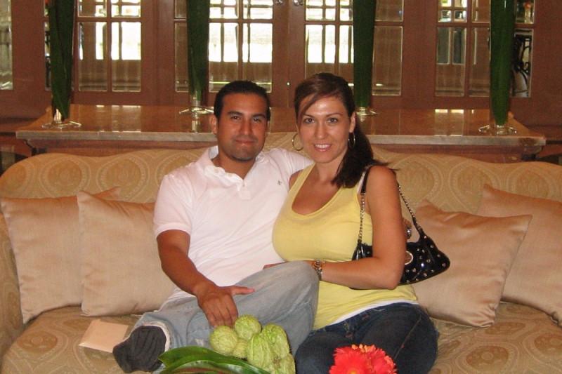 who is monicas husband