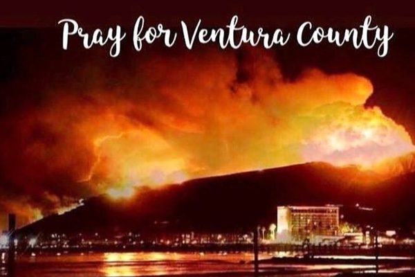 Pray For Ventura >> Fundraiser By Brittany Wadlington Ventura County Fire Christmas Drive