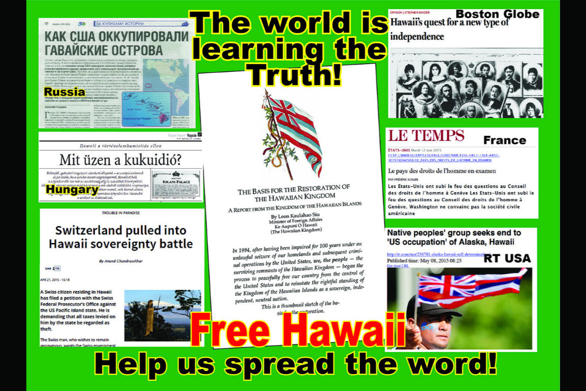 fundraiser by leon siu : the campaign to free hawaii