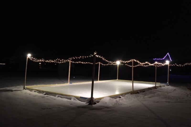 Backyard Ice Rink Lights fundraisertroy tylinski : backyard ice rink