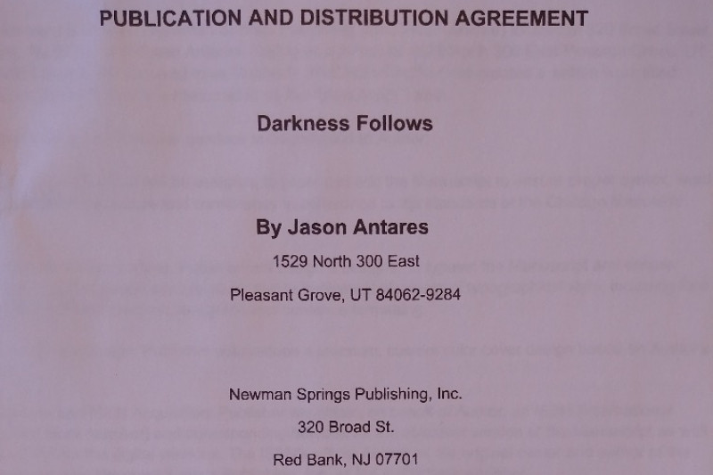 Fundraiser By Jason Antares Help Publish My Book