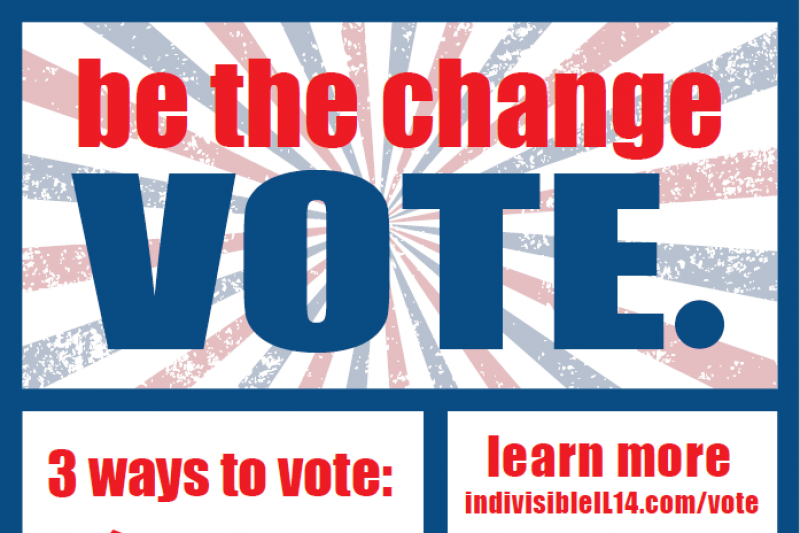 Fundraiser by Drew Knobloch : IL14 GOTV (Get Out The Vote) Drive