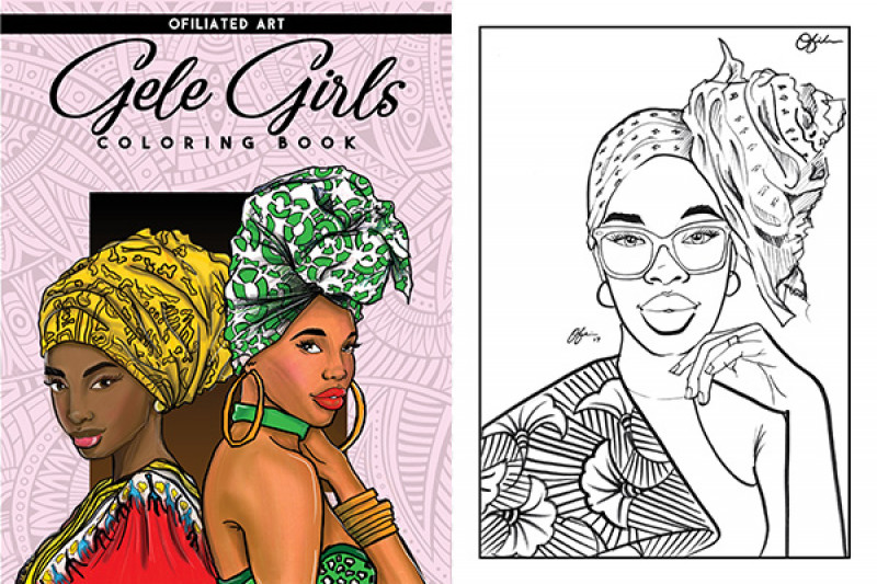 Fundraiser by Ofili Nonso : GELE GIRLS COLORING BOOK