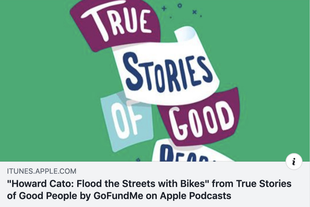 Fundraiser by Howard Cato : Flood the Streets with Bikes