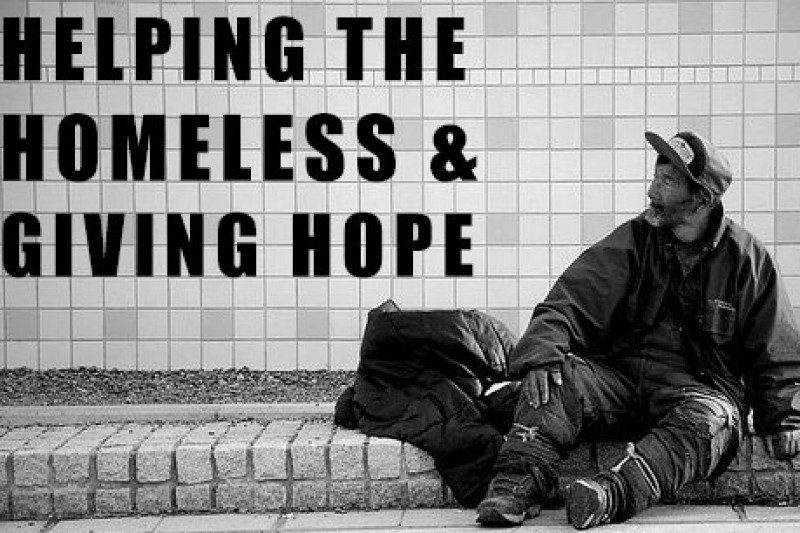 fundraiser by junior morales helping the homeless