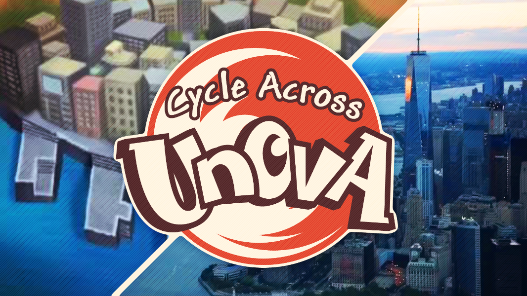 Fundraiser by Stephen Aymond : Cycle Across Unova: NYC Adventure