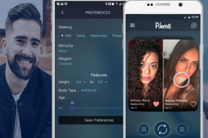 Dating app body types