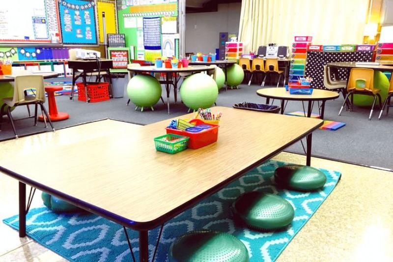 Innovative Ideas For Classroom Teaching ~ Fundraiser by sarah golibart classroom flexible seating