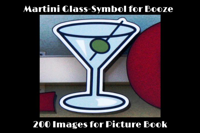 Fundraiser By Mark Baker Martini Glass Symbol For Booze Book
