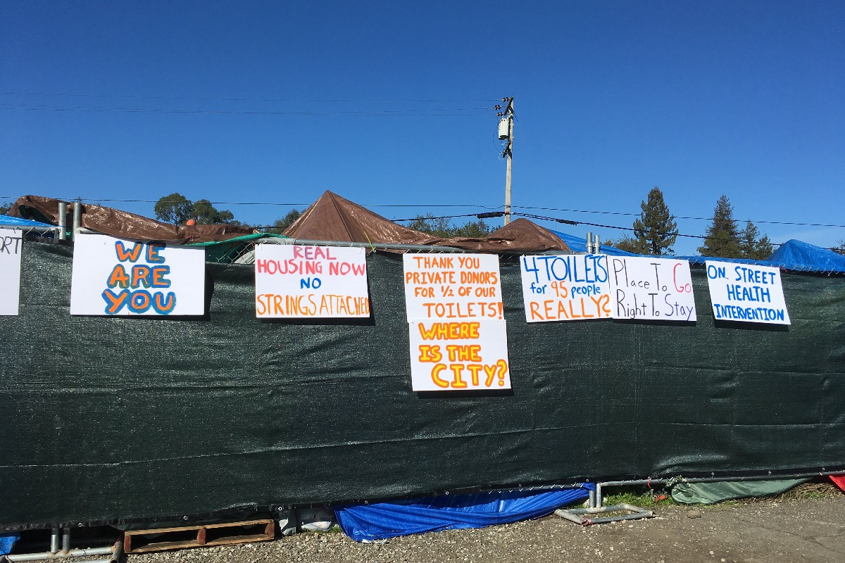 Donate Now Not now & Fundraiser by Carolyn Epple : Keep the homeless tents up