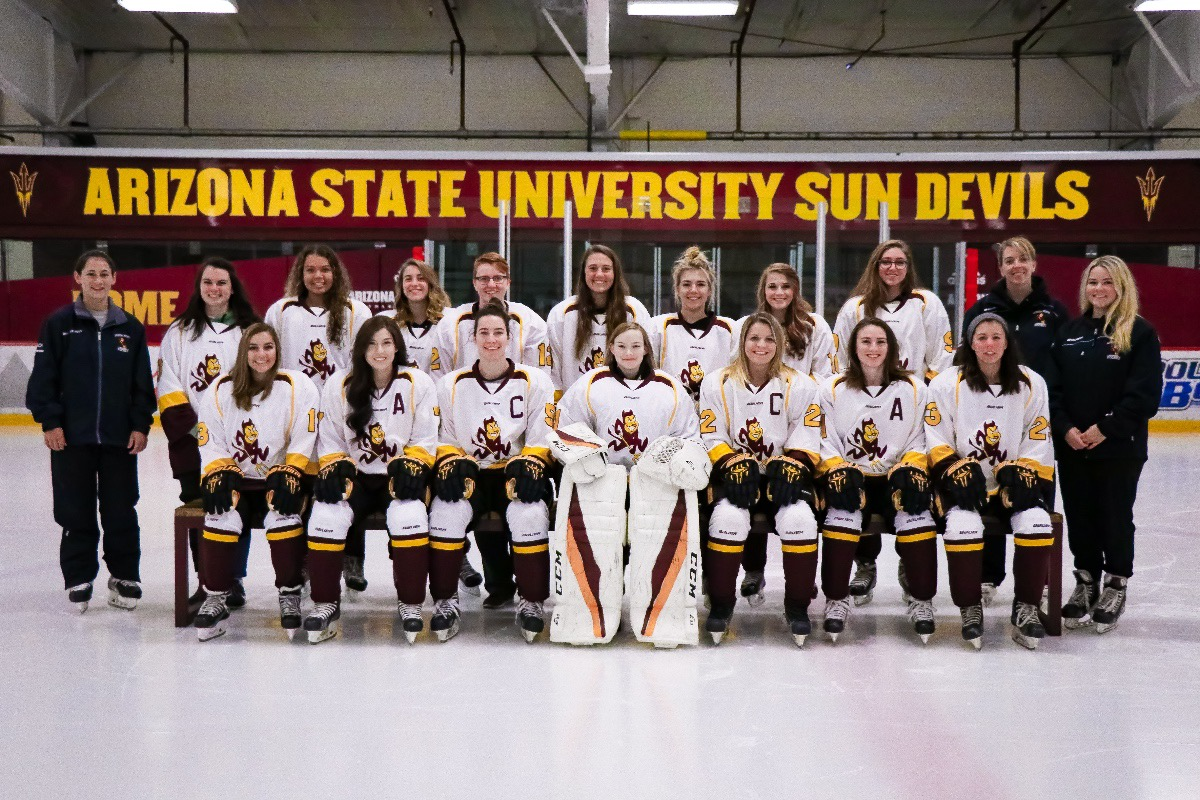 fundraiser by lindsey ellis : asu women's hockey