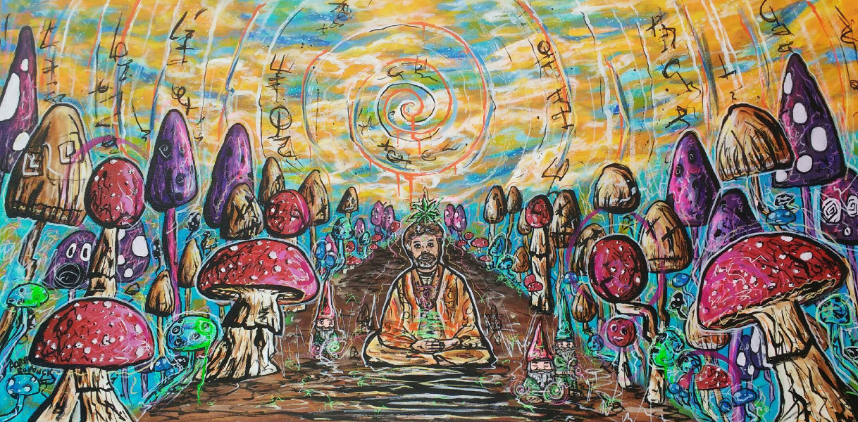 Terence Mckenna Art >> Fundraiser By Kevin Whitesides The Terence Mckenna Archives