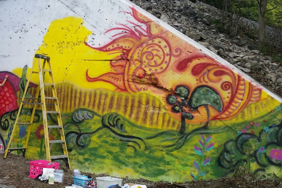 Fundraiser by Leslie Contreras : Miami County Line Mural