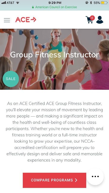 Fundraiser By Joi Adams Group Fitness Trainer Certificate