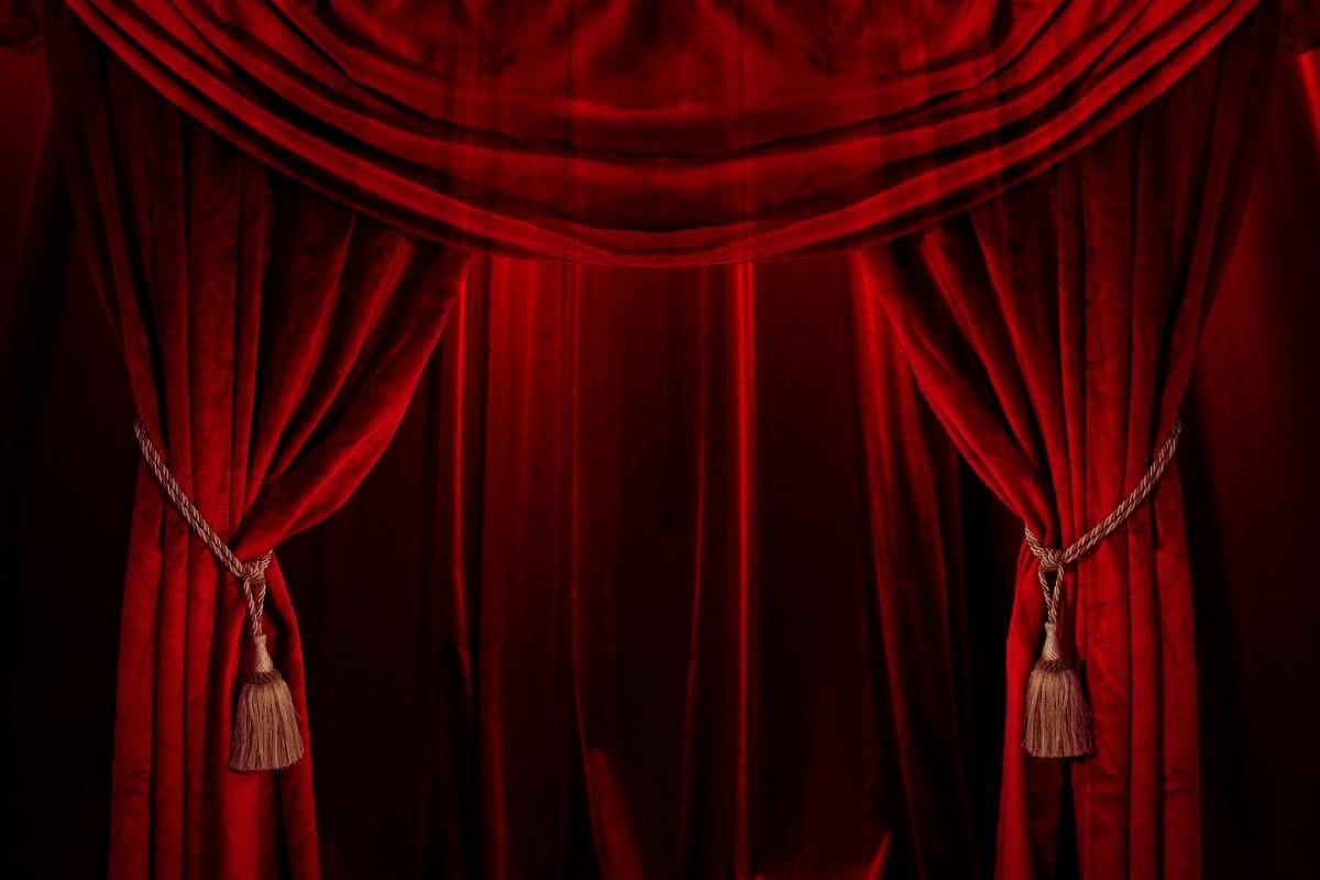 Image result for red velvet curtain background