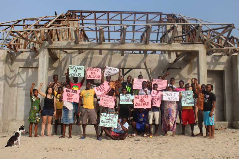 Click here to support Ada estuary Human/Earth rights fund organized by Volta Revival Foundation